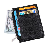 Компактное портмоне для кредитных карт с замочком для мелочи HF222
