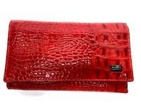 Красный лакированный кошелек Hassion (Wanlima)