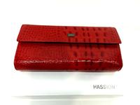 Красный женский кошелек Hassion (Wanlima)
