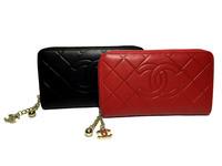 Кошелек Chanel кожаный на молнии 1834-13