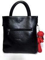 Черная необычная сумка с мишкой Braccialini Тоти Блу 22781