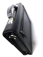 Строгий мужской кожаный портфель Mont Blanc L10916