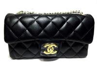 Черная классическая сумка  Chanel 1104