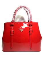 Классическая глянцевая сумка Прада 1821-201