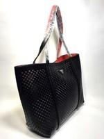 Кожаная сумка PRADA 1098  рифленая 2 в 1