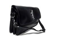 Классический клатч от YSL черного цвета 0137/58