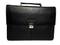 Солидный кожаный портфель - Giorgio Armani 8000