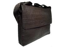 Коричневый планшет из мягкой кожи рептилии - Mont Blanc 9980