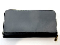 Женское черное портмоне на молнии Nicole Richie 5204