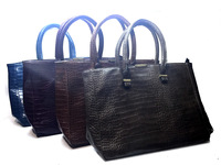 Модная кожанная сумка Victoria Beckham 3621